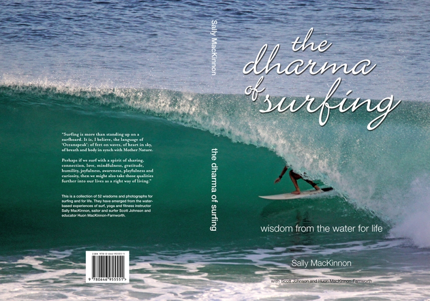 Cover of 'the dharma of surfing'